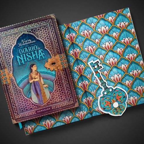 O Diário de Nisha + Brinde Exclusivo - DarkSide Books