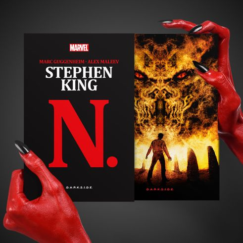 N., de Stephen King + Brinde Exclusivo - DarkSide Books